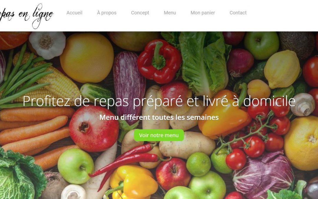 Repas en ligne
